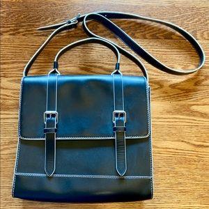 Vince Camuto leather crossbody satchel